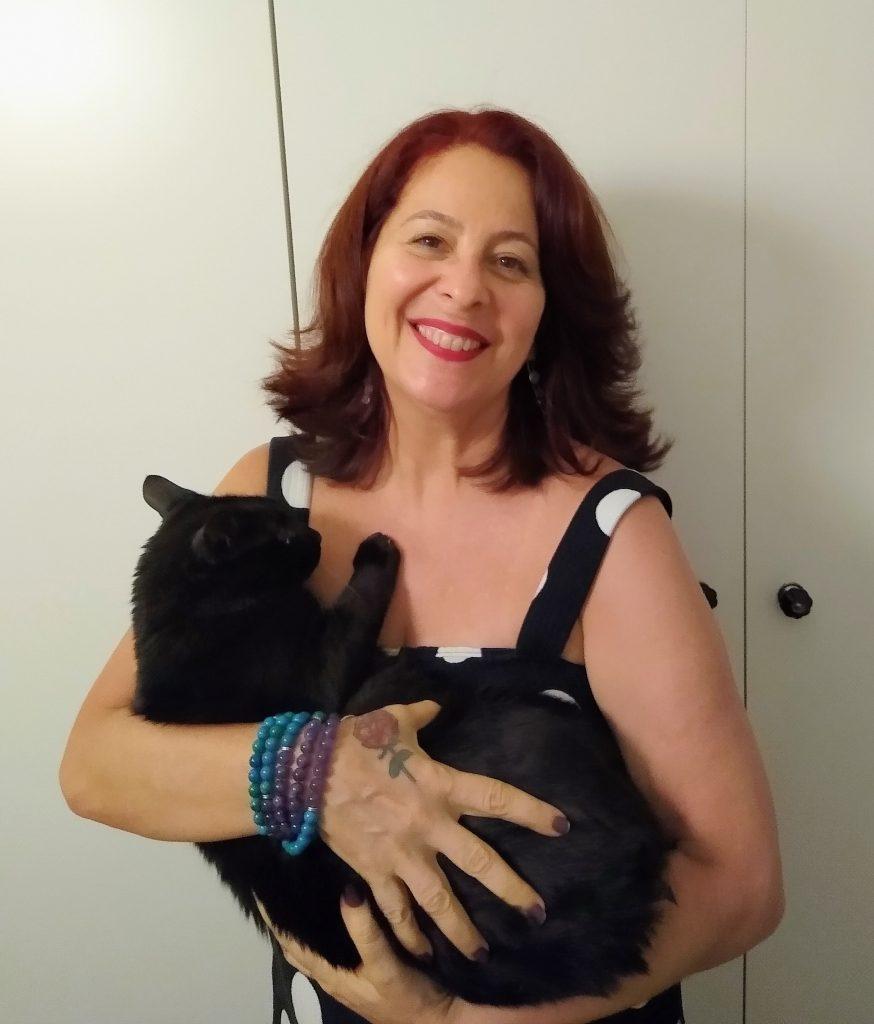 A leitora Adriana Moretta, 56, que mora no Rio de Janeiro (Arquivo Pessoal)